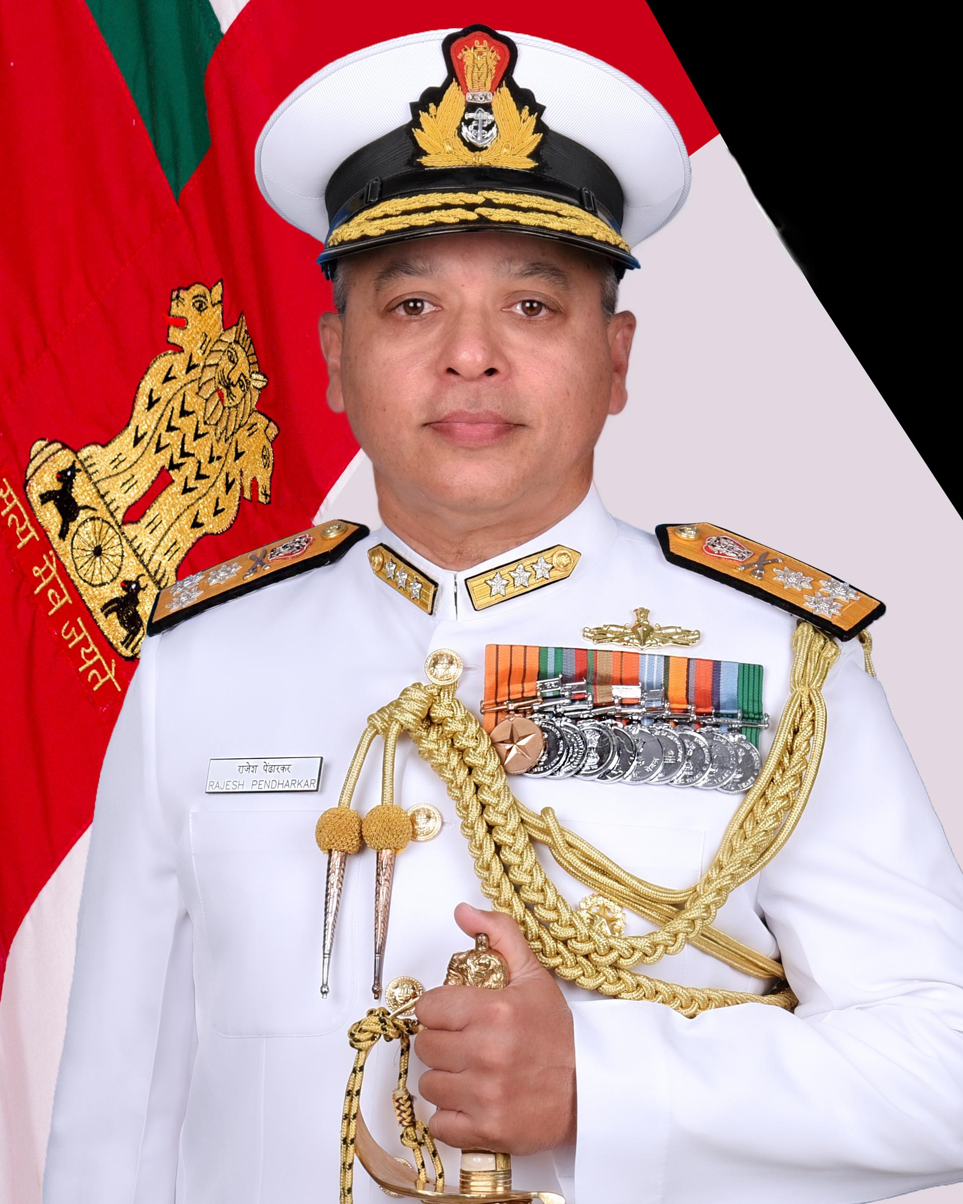 Vice Admiral Rajesh Pendharkar, AVSM, VSM Assumed Charge As Director General Naval Operations