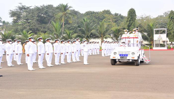 ईएनसी में गणतंत्र दिवस परेड आयोजित की गई