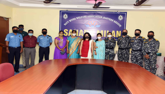 Conduct of Virtual Sahara Milan by Naval Wives Welfare Association (Eastern Region)