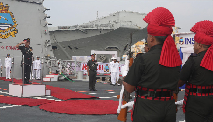 Affiliation Ceremony- INS Kochi and Jammu & Kashmir Light Infantry