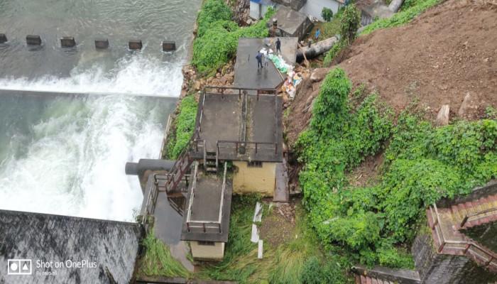 Repair Work at Peechi Dam by Naval Diving Team