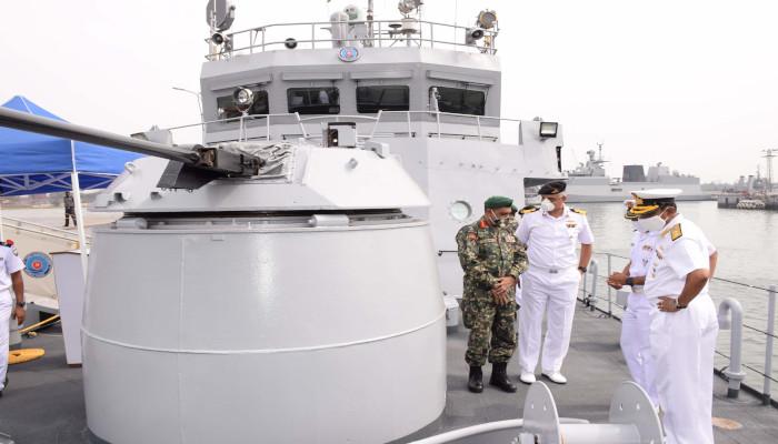 Indian Navy Completes Refit of Maldivian Ship CGS Huravee