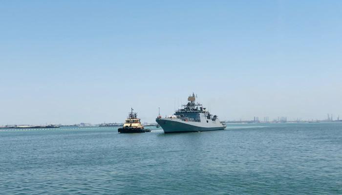 Seven Indian Navy Ships Deployed for Op Samudra Setu II