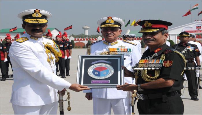 Affiliation Ceremony of INS Kochi with JAK LI Regiment