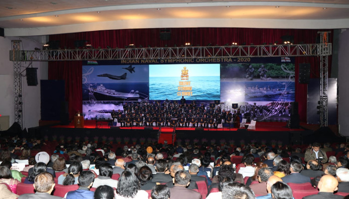 Indian Naval Symphonic Orchestra - 2020