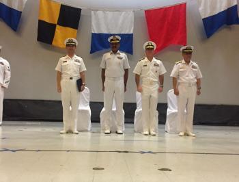 IN Ships at Guam, USA