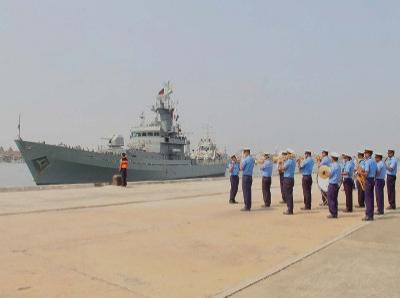 Visit of Bangladesh Navy Ship Dhaleshwari to Kochi