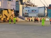 INS Shardul Arrives at Kochi with Liquid Medical Oxygen