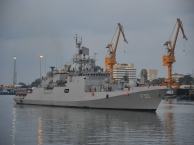 Operation Samudra Setu II - INS Tarkash Brings Medical Oxygen Consignment from Qatar