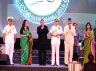 Shri ESL Narasimhan Honrable Governor of AP Chief Guest Shri N Chandrababu Naidu Honrable Chief Minister of AP Guest of Honour