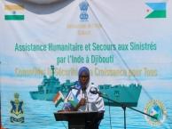 INS Airavat at Djibouti