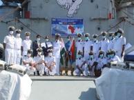 INS Airavat at Eritrea