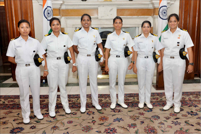 Navika Sagar Parikrama - Circumnavigating the Globe on an Indian-Built Sail Boat INSV Tarini by Women Naval Officers
